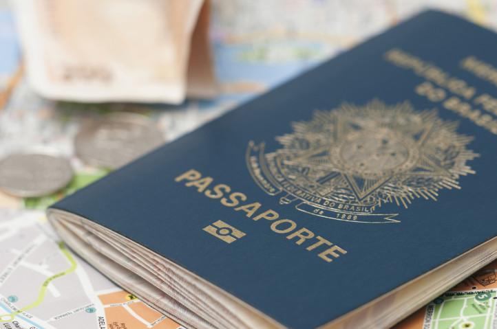 Passaporte para viagem ao Canadá