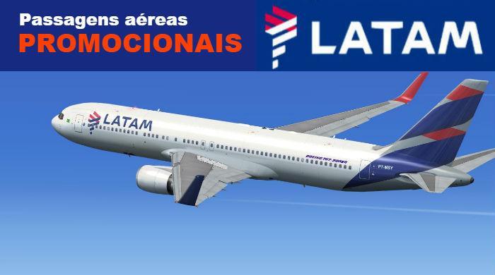 Passagens aéreas Latam